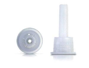Inserto gotero para boca 18 mm. con 1 orificio de 1,0 mm. Código: G-1001