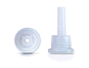 Inserto gotero para boca 18 mm. con 4 orificios de 0,5 mm. Código: G-1050