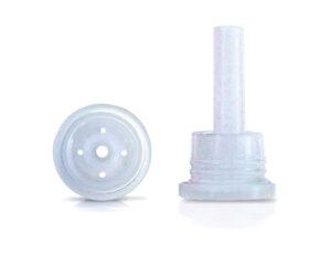 Inserto gotero para boca 18 mm. con 4 orificios de 1,0 mm. Código: G-1077