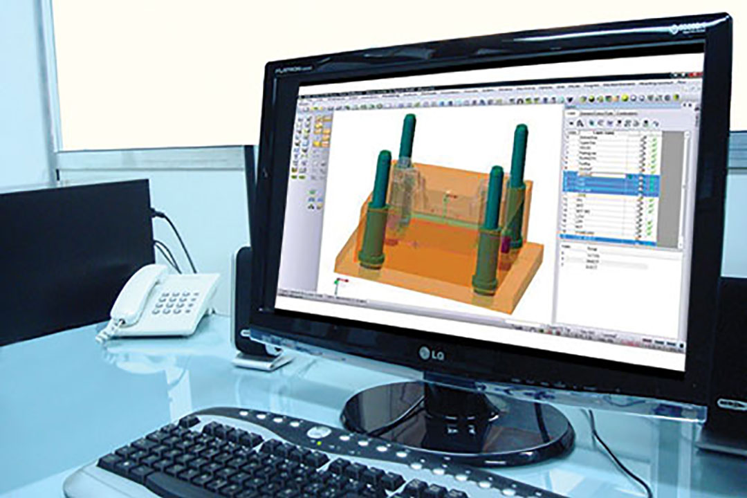 Diseño de productos y moldes asistido por computador