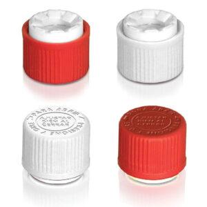 Tapa plástica 18 mm. a prueba de niños con precinto inviolable. Código: T-1822