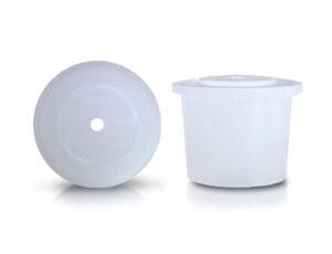Inserto gotero para frasco plástico gotero con 1 orificio de 1,5 mm. Código: G-1081