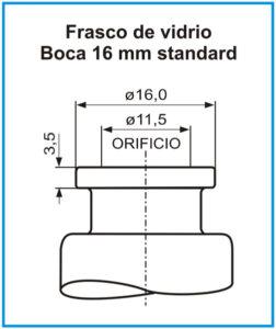 plano-Frasco-de-vidrio-boca-16-mm-standard